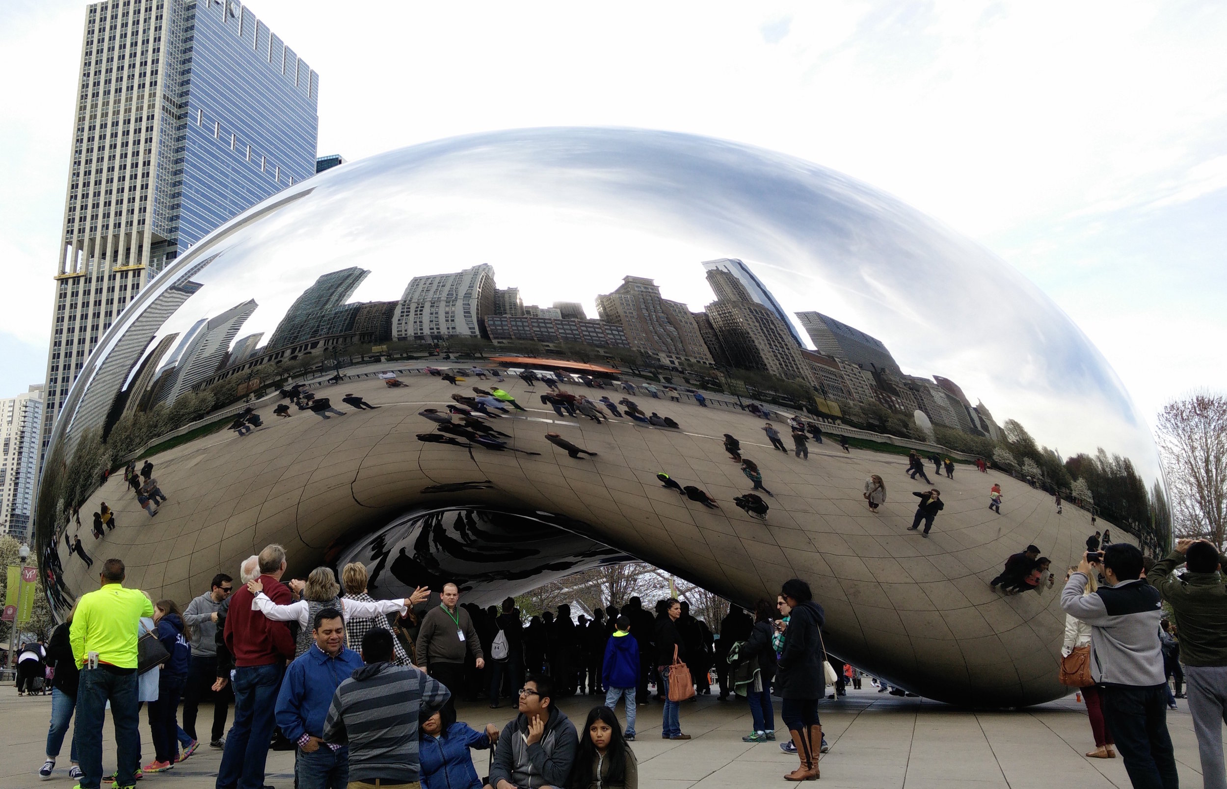 Cloud Gate by Anish Kapoor (Chicago)